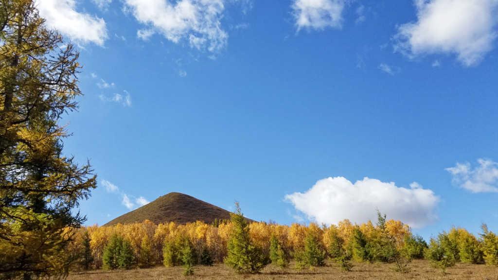 夏秋的坝上草原是美丽的风景画
